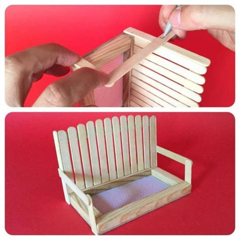 Diy Bench Swing Bird Feeder