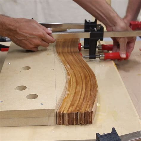 Diy Bend Wood Mirror