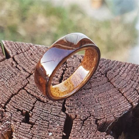 Diy Bent Wood Wedding Ring