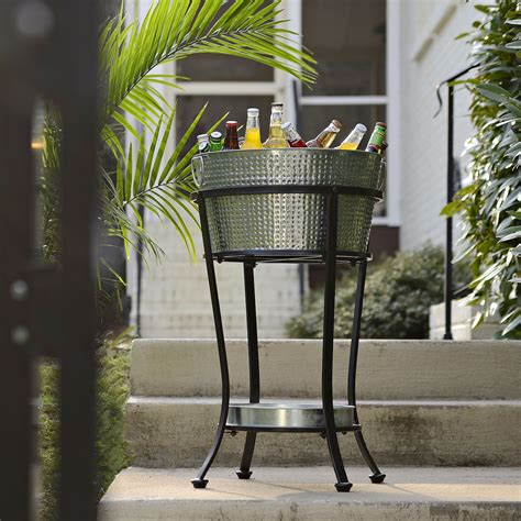 Diy Beverage Tub Stand