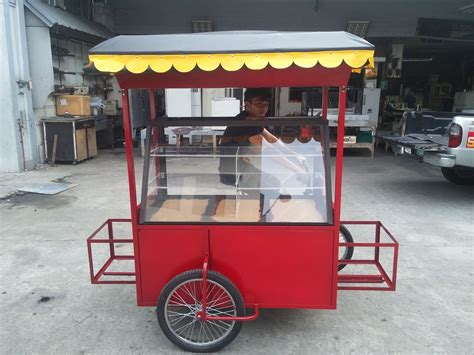 Diy Bicycle Food Cart