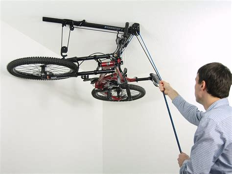 Diy Bicycle Pulley Storage