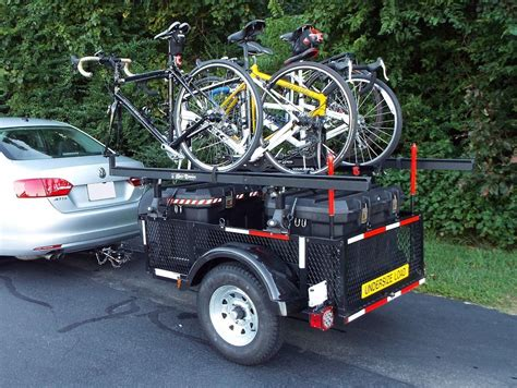 Diy Bicycle Rack For Trailer