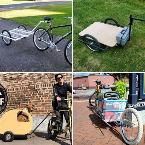 Diy Bicycle Trailer Plans