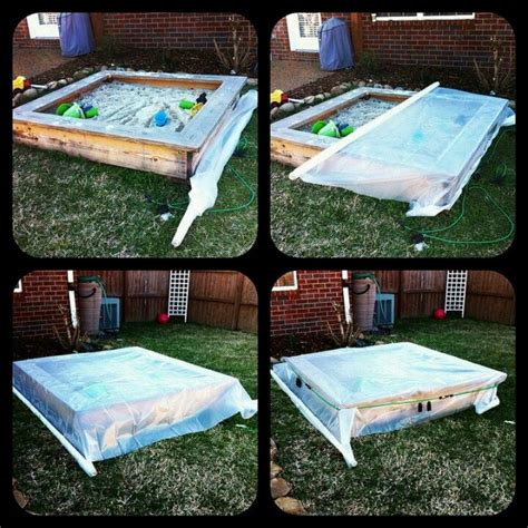 Diy Big Sandbox With Cover
