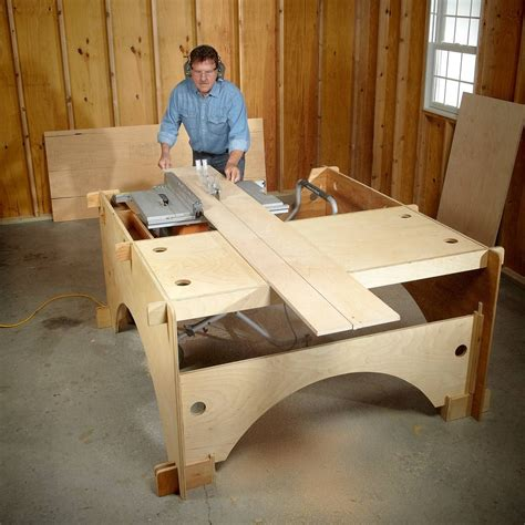 Diy Big Table Saw