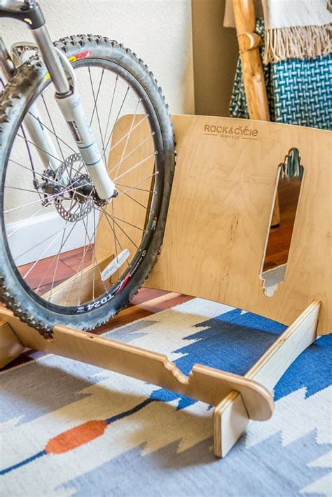 Diy Bike Floor Stand Wood