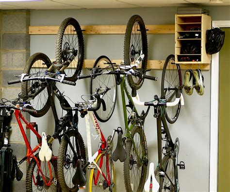 Diy Bike Garage Storage