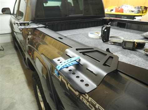 Diy Bike Mount On Truck Bed Rails