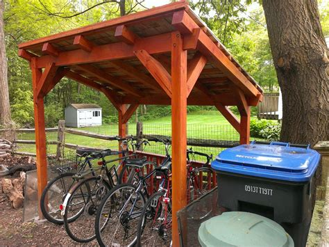Diy Bike Shelter