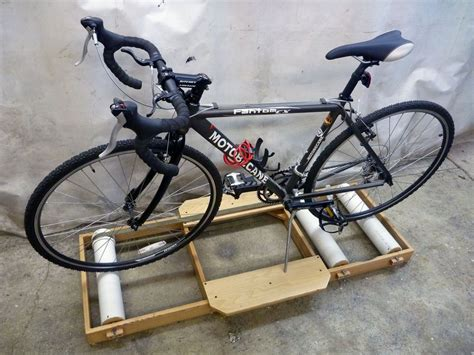 Diy Bike Trainer Front Wheel Stand