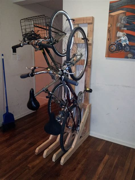 Diy Bike Vertical Rack