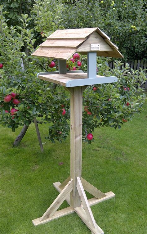 Diy Bird Table Ukuran