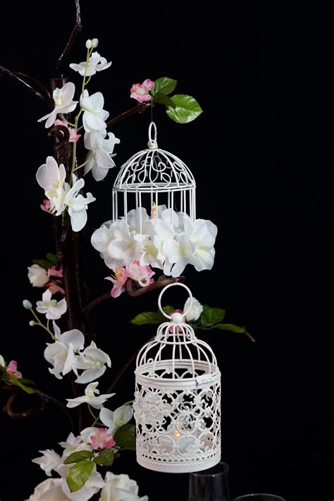 Diy Birdcage Centerpiece