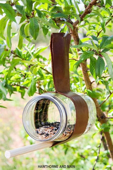 Diy Birdhouse And Feeder