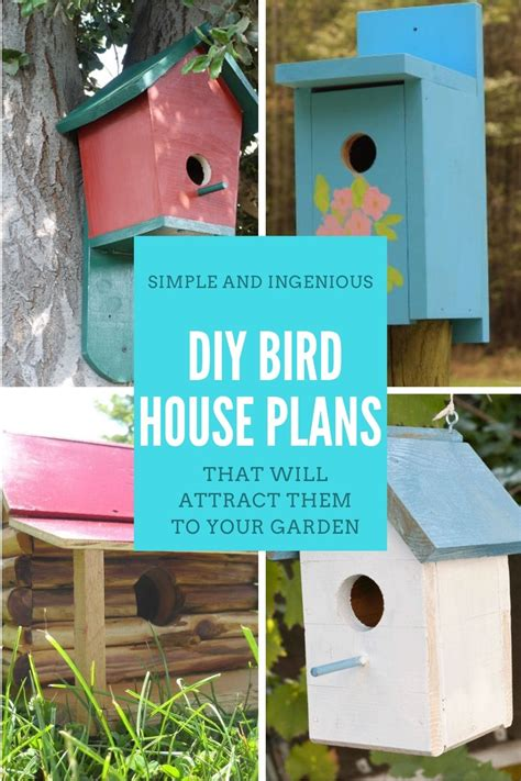 Diy Birdhouse Designs Handcrafted