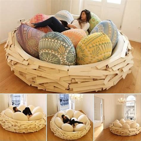 Diy Birds Nest Beds