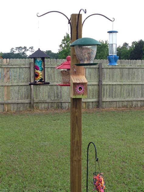 Diy Birs Feeser Stand Outdoor