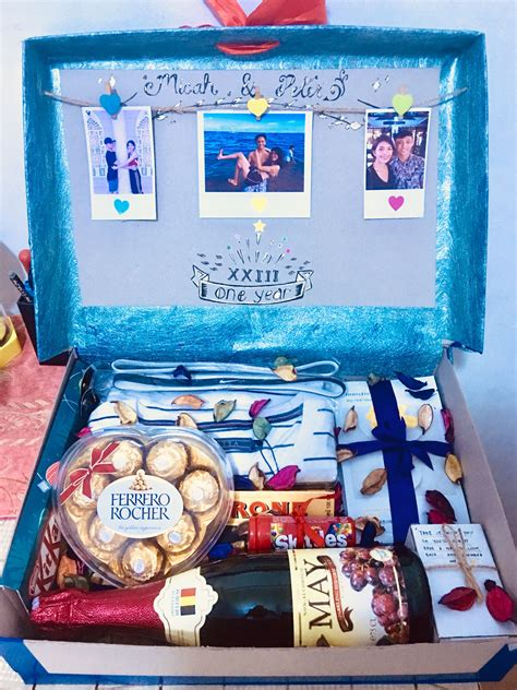Diy Birthday Box Gift Ideas