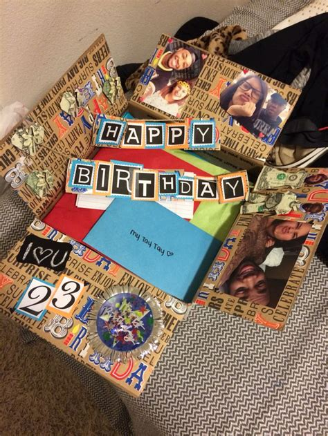 Diy Birthday Box Image