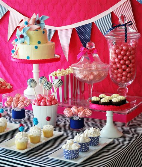 Diy Birthday Cake Table Decorations