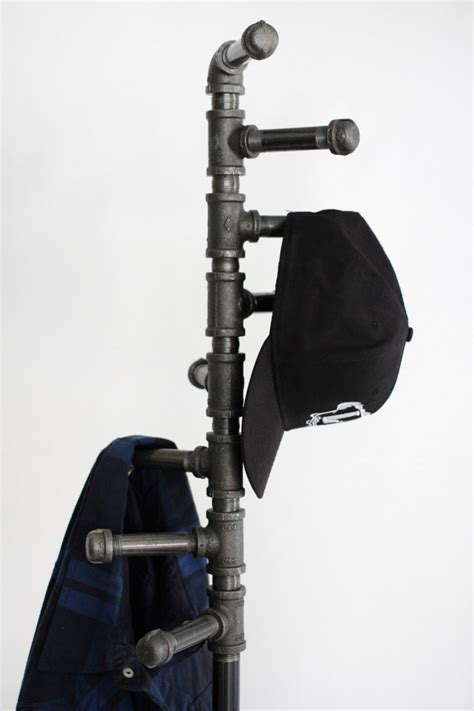 Diy Black Pipe Coat Rack