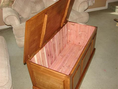 Diy Blanket Chest Building Plans
