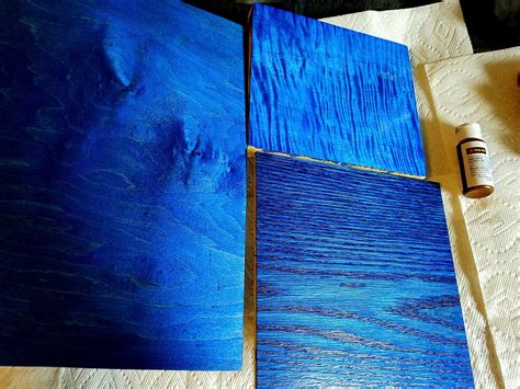 Diy Blue Wood Dyes