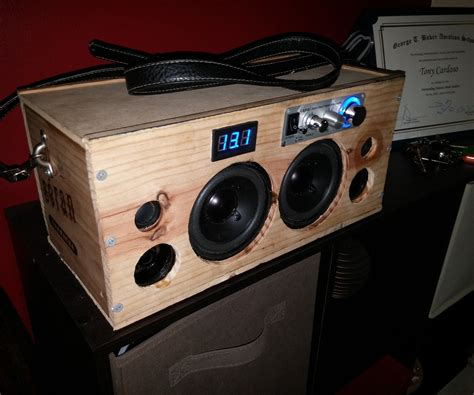 Diy Bluetooth Speaker Boombox