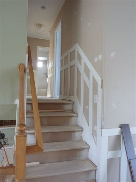 Diy Board And Batten Stairs