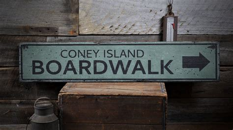 Diy Boardwalk Arrow Signs