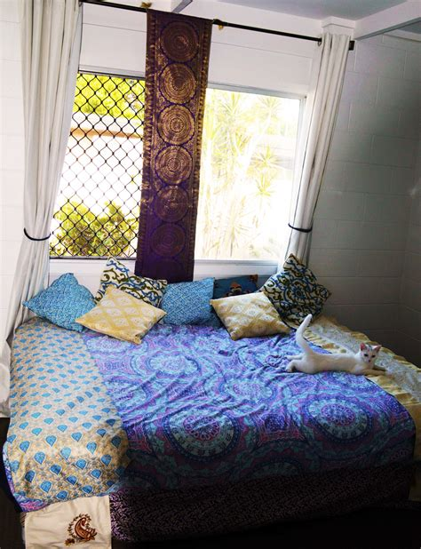 Diy Bohemian Bed Nook