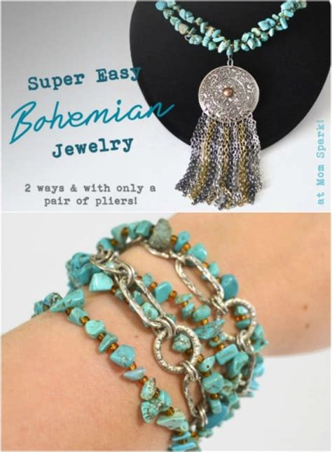 Diy Bohemian Necklace