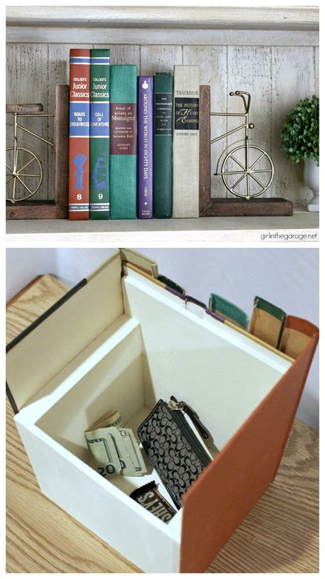 Diy Book Box Secret Storage In Wall