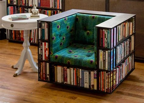 Diy Book Case From Chair Backs