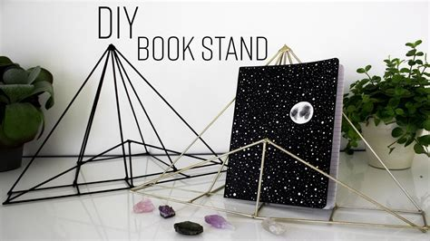 Diy Book Stand Pinterest