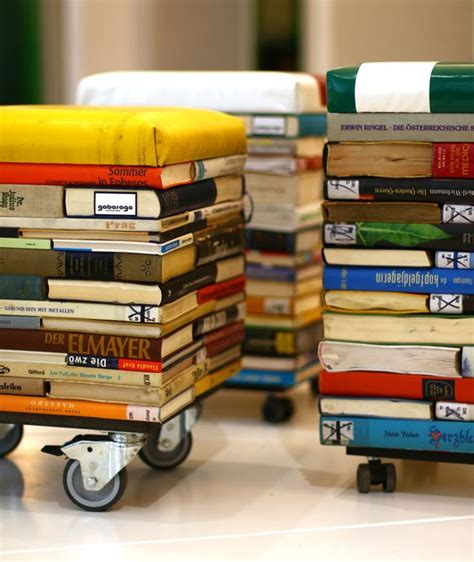 Diy Book Stool