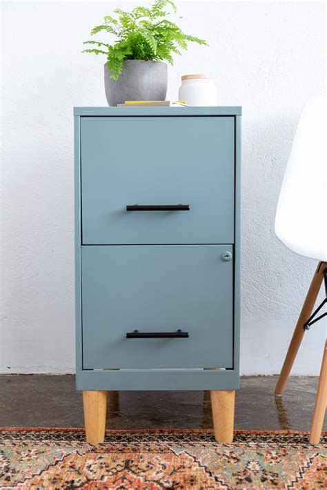 Diy Bookcase Above Filing Cabinet