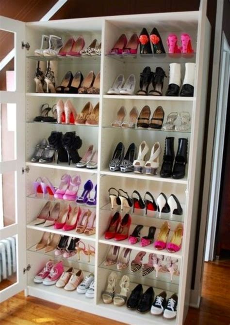 Diy Bookcase Into Shoe Rack