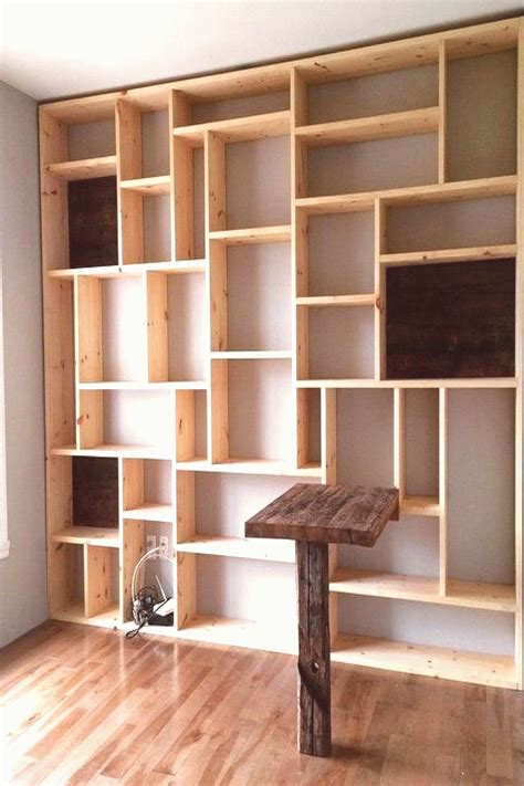 Diy Bookcase Wall