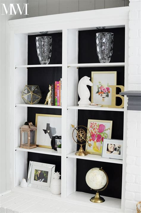 Diy Bookshelf Ideas Contact Paper