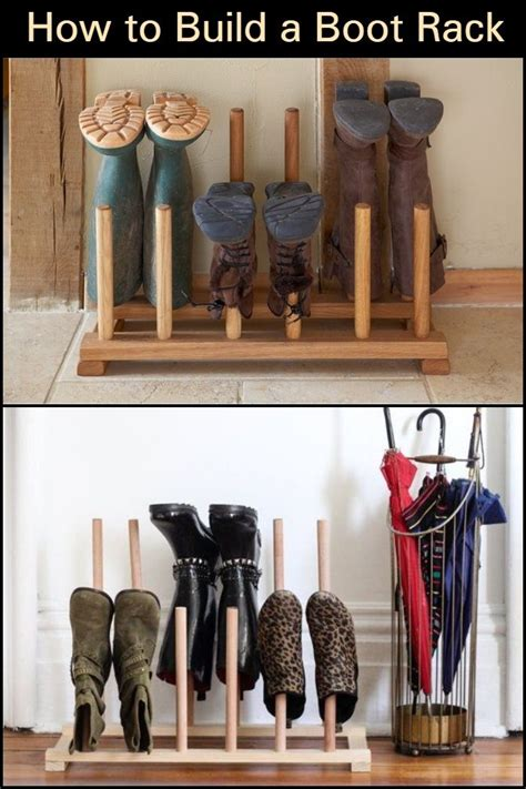 Diy Boot Rack For Closet