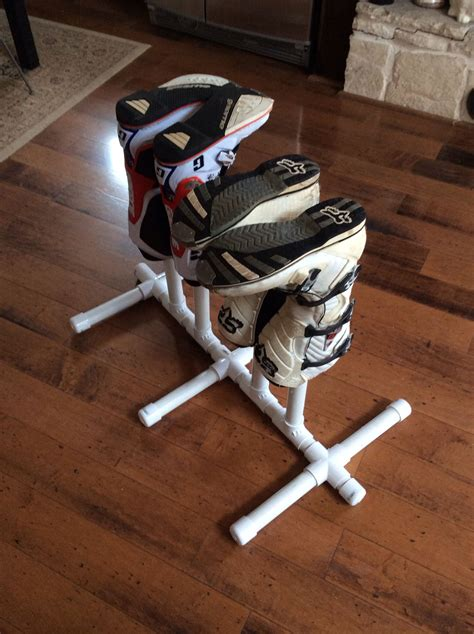 Diy Boot Rack Pvc