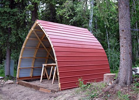 Diy Bow Roof Shed
