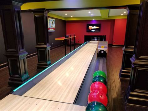 Diy Bowling Alley For Basement