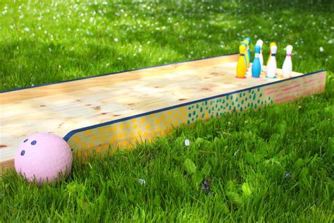 Diy Bowling Alley For Kids