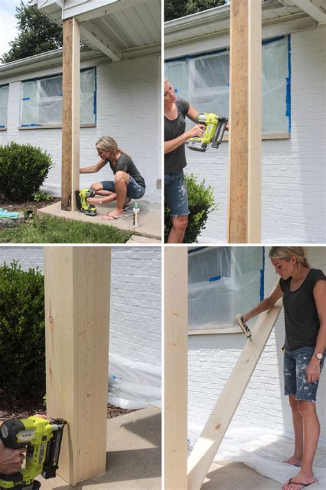 Diy Box Column Porch Post