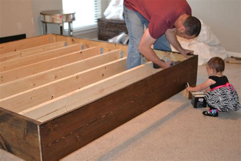 Diy Box Frame For Bed