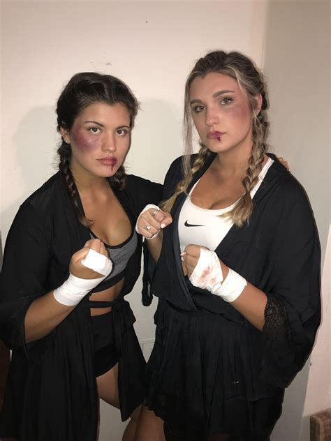 Diy Boxing Costume