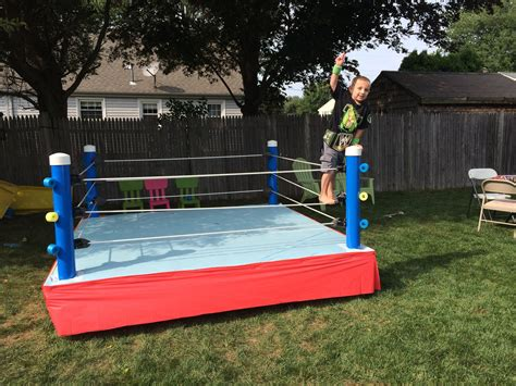 Diy Boxing Ring Bed Picture